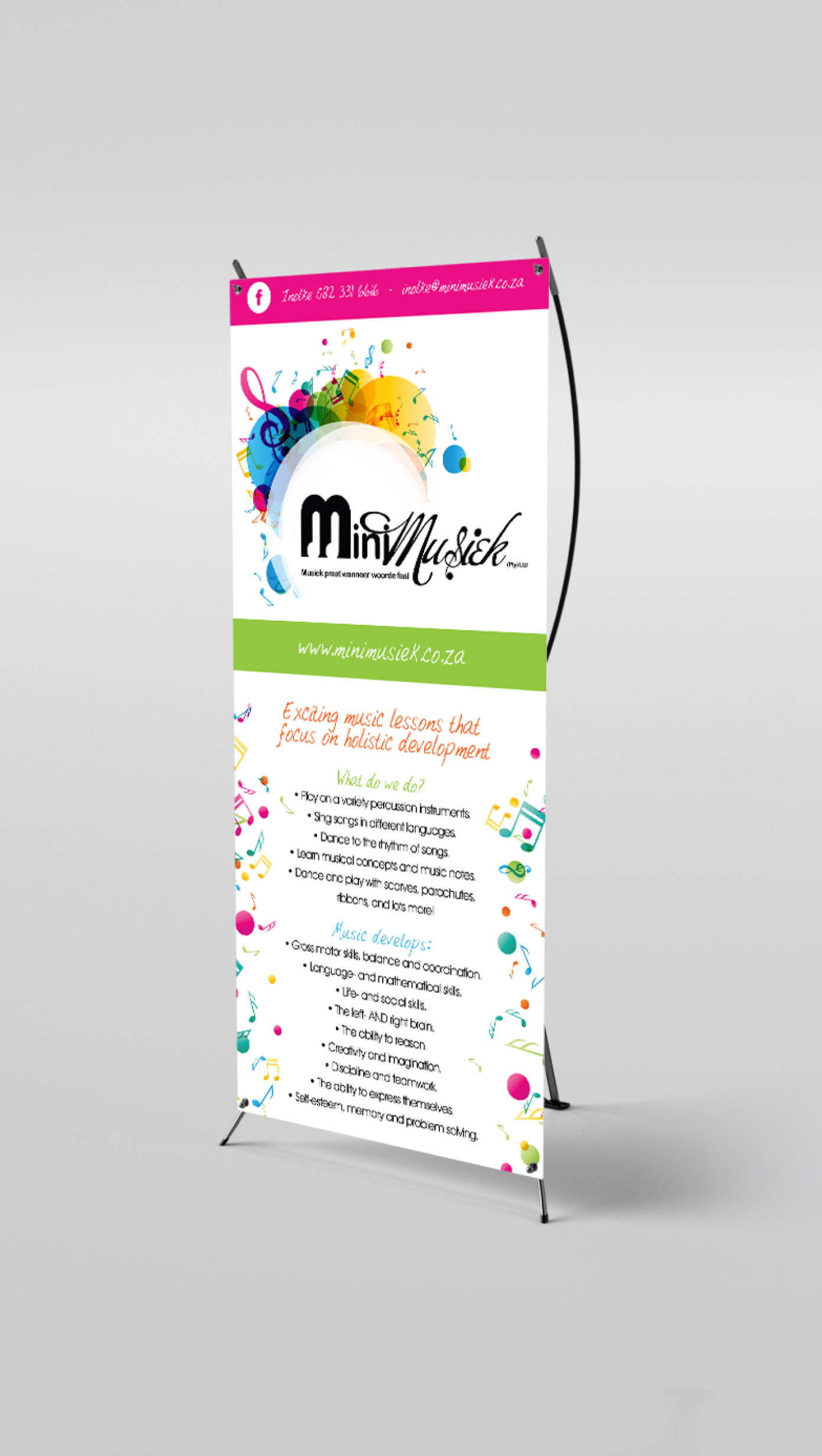 MiniMusiek Banner Design