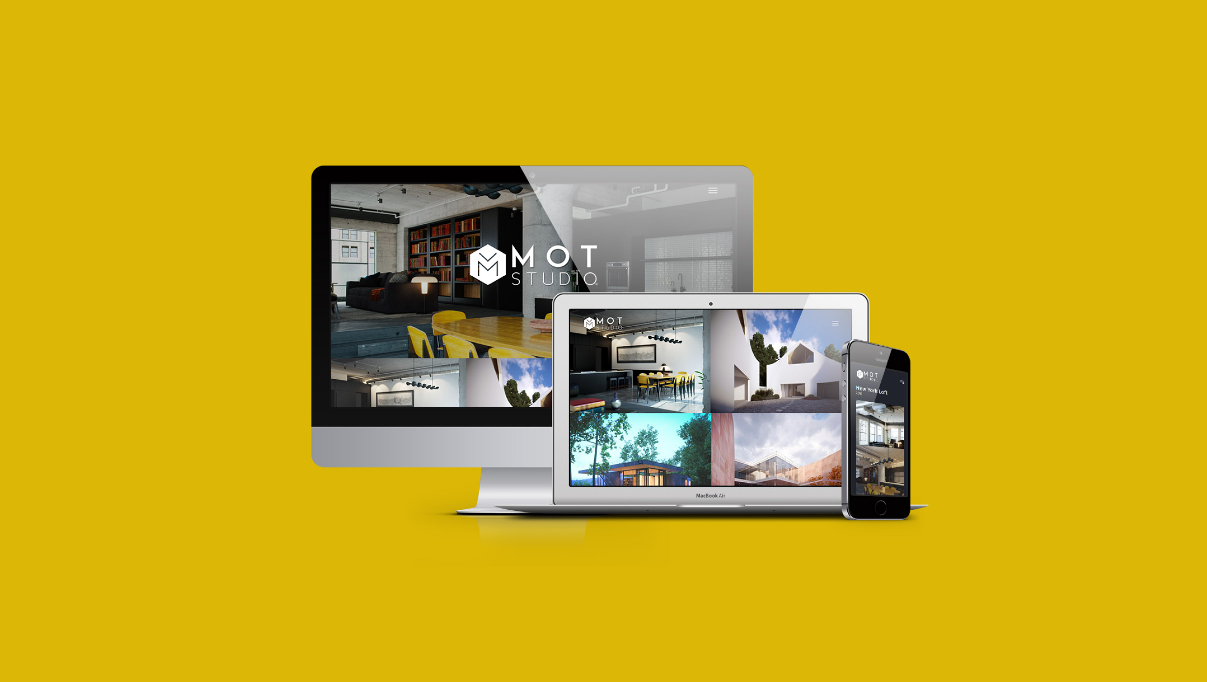 MOT Studio Website Design - https://motstudio.co/